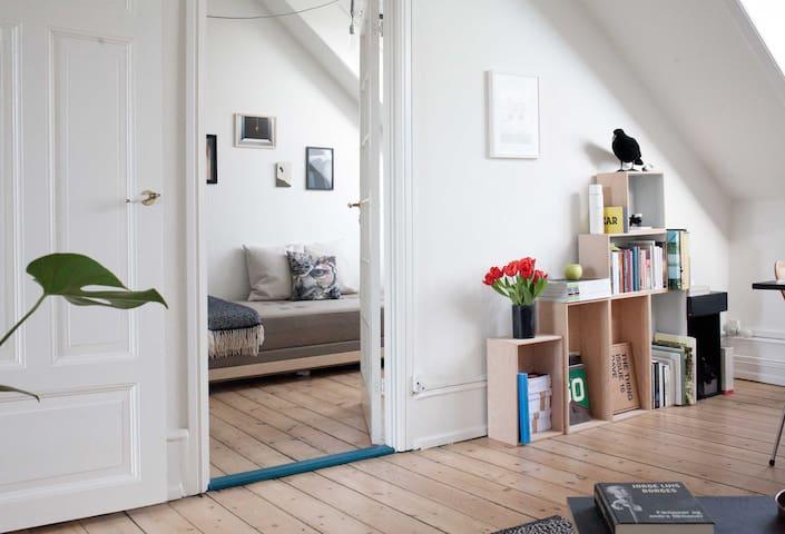 Sunny Room with private balcony - Kopenhagen - Loft