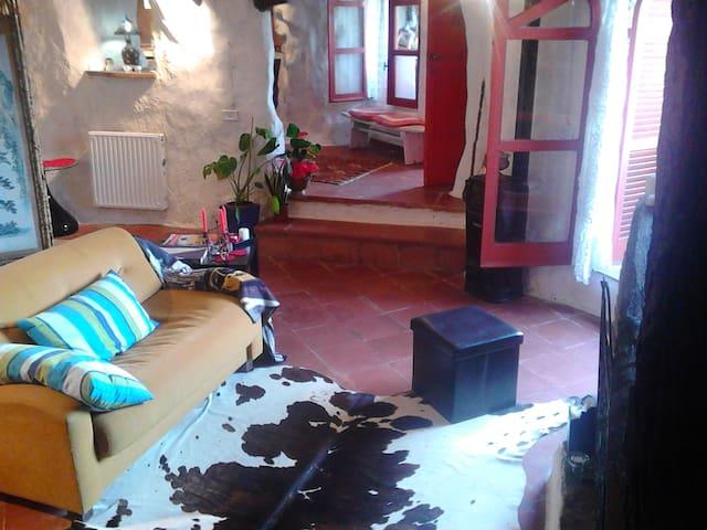casa sulla rupe in Calcata  - Calcata Vecchia - Loft