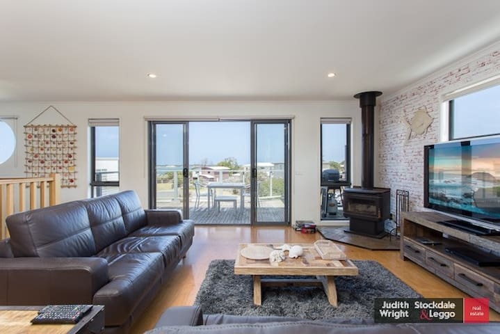 Tranquil seaview holiday house near Philip island - San Remo - Casa