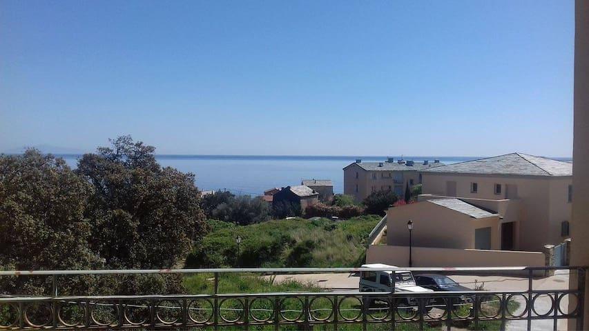 Appartement Erbalonga vue sur la mer. - Brando - Departamento