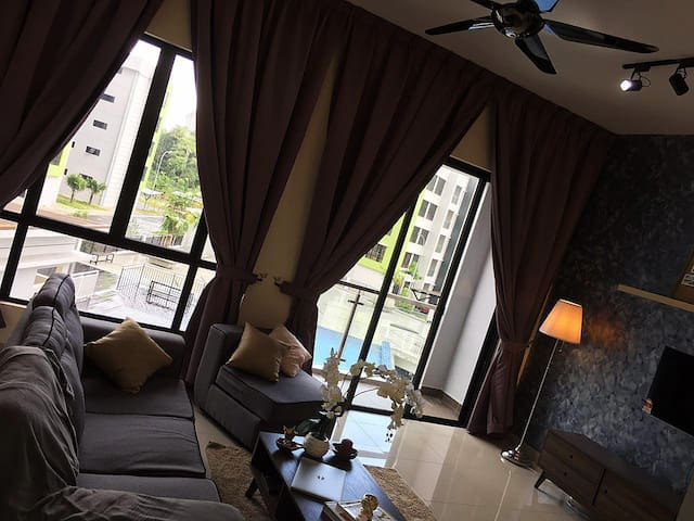 Cozy new pool view apartment @ Johor Bahru - Masai - Apartemen