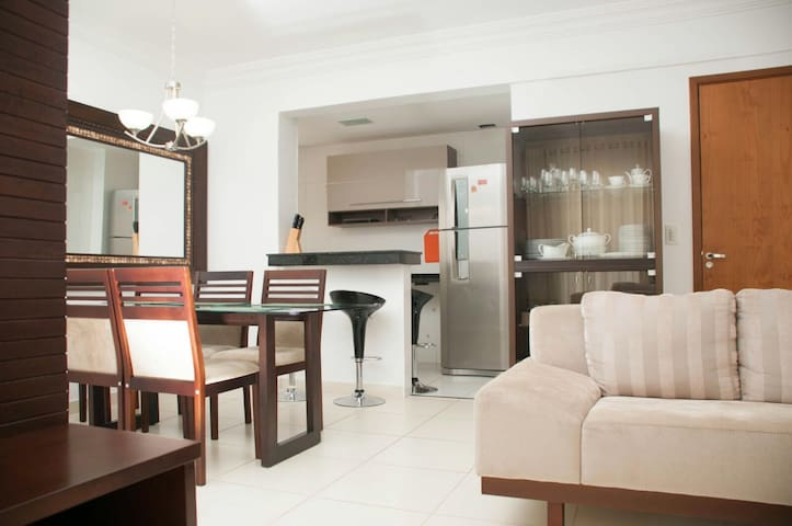 Apartamento en condominio de luxo - Goiânia - Appartement