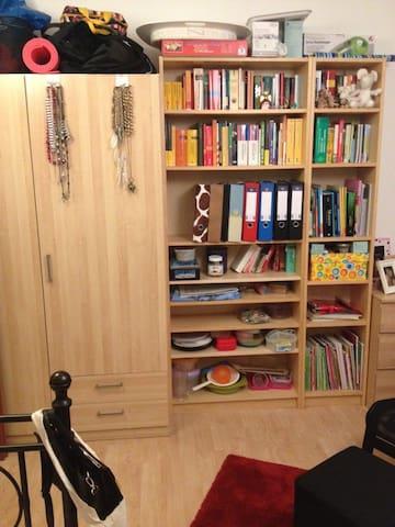 Helles Zimmer mit Balkon - Germersheim - Apartamento