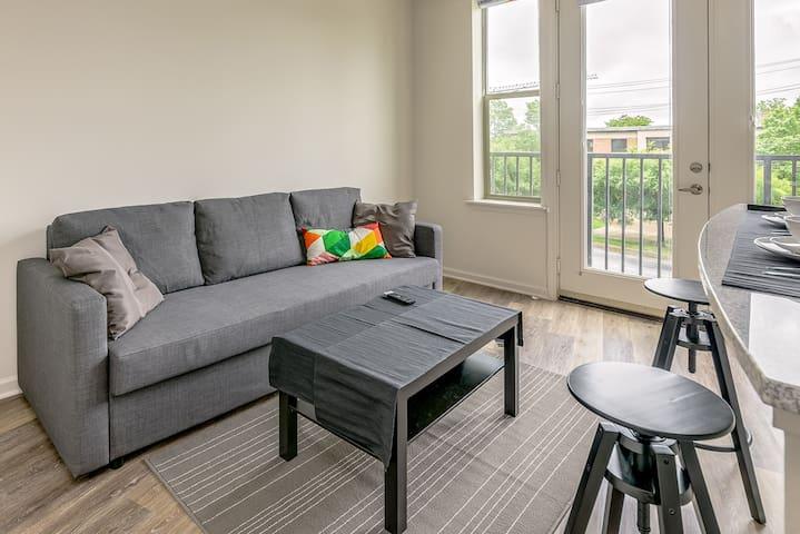 LUXURY CONDO- HEART OF UPTOWN & SOUTHEND CHARLOTTE - Charlotte - Lägenhet