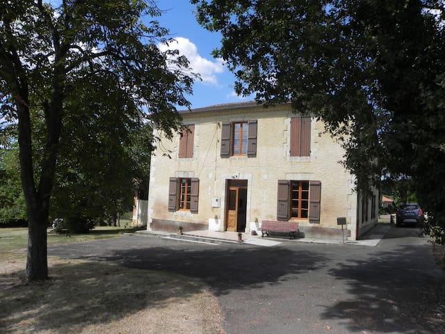 Maison de caractère au calme dans le Gers - Préneron - Hus