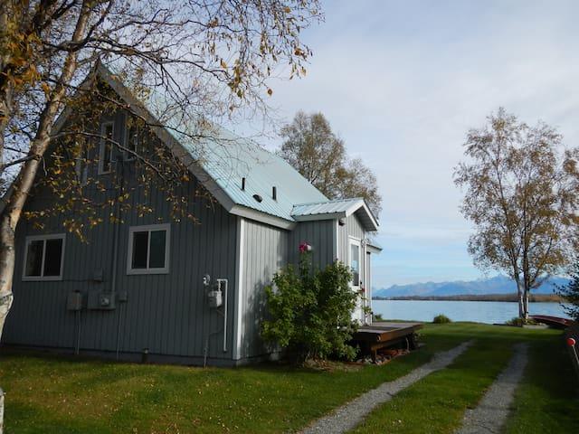Lakehouse; 850sqft A frame w/ VIEW - Wasilla - Haus