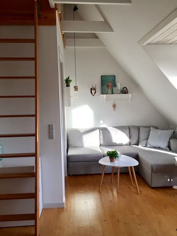 Hyggelig lejlighed i Hjørring centrum - Hjørring - Appartement