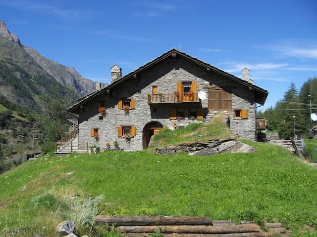 Apartment in the Gran Paradiso National Park - Créton - Квартира