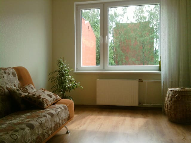 Simple flat in a quiet and beautiful town. - Ikšķile - Appartement