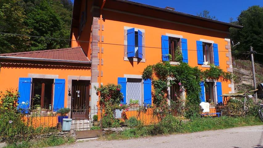 Countryside B&B Vosges Blue Room - Vosges