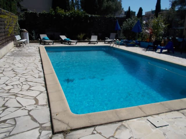 STUDIO INDEPENDANT ATTENANT VILLA AVEC GDE PISCINE - Montpellier - Apartament