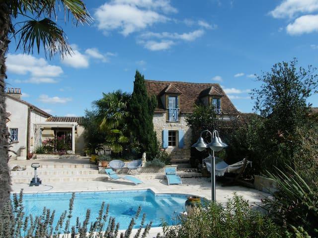 Wonderful house with private heated swimming pool - Monestier - Отпускное жилье