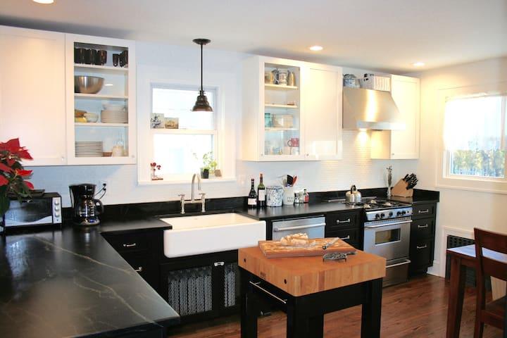 Charming renovated home near NYC - White Plains - Huis