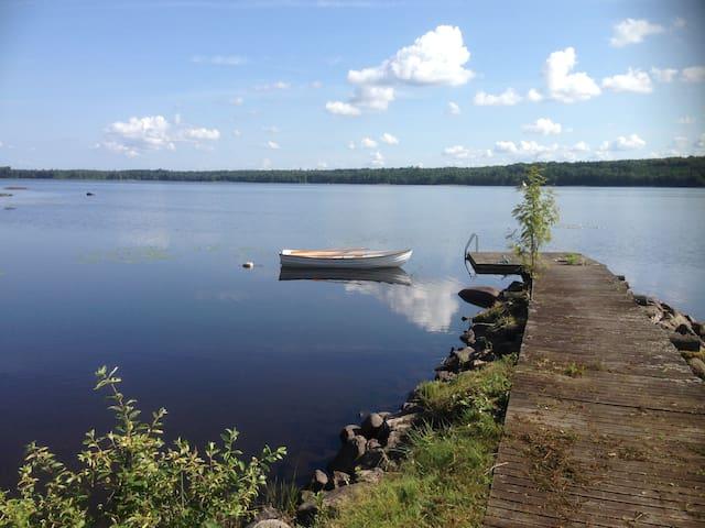 New summer house close to the lake - Värnamo S - Kulübe