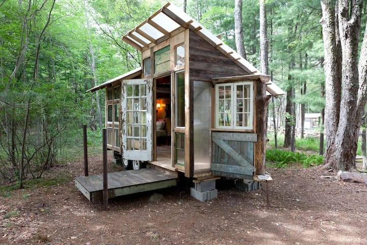 Tiny Home on Farm Upstate Catskills - Woodridge - Autocaravana