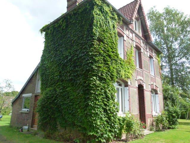 Maison dans la campagne rouennaise - Saint-Jean-du-Cardonnay - Huis