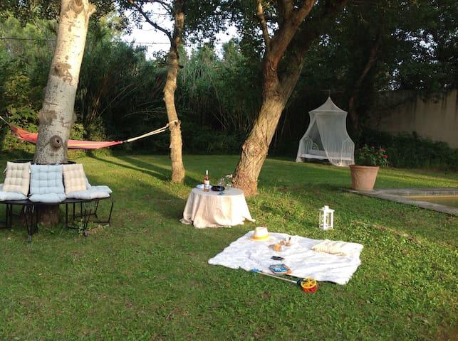 Location de gîte n° 3 - Rochefort du Gard  - Lägenhet