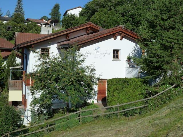 B&B La Val, Room --Alpenrose-- - Trin - 家庭式旅館