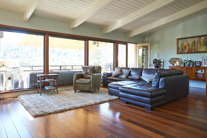 Mt. Tam home with a view - Kentfield - Ev