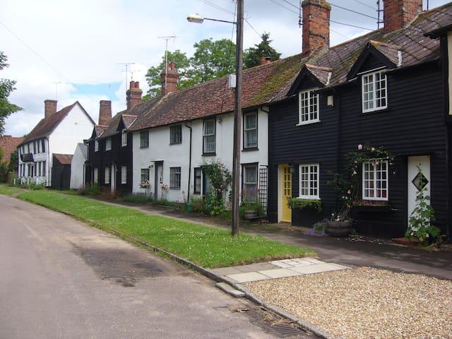 Clapboard cottage with garden - Newport