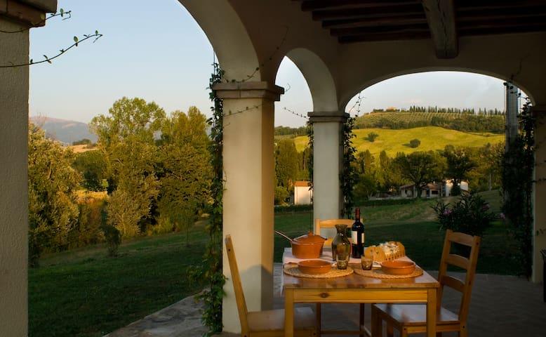 Appart. Peonia, Borgo le Capannelle - Castel Ritaldi - Appartement
