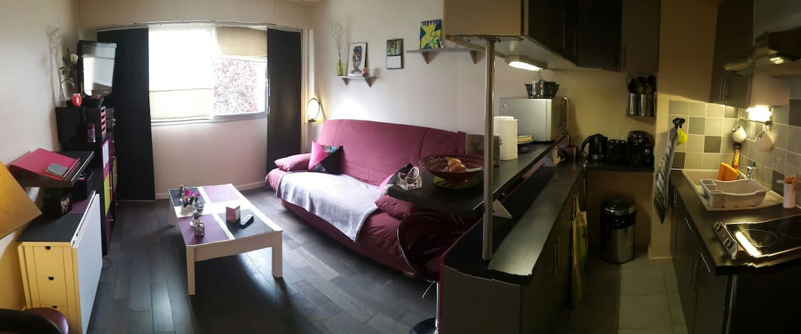 Studio bon état // centre ville - Rambouillet - Appartement