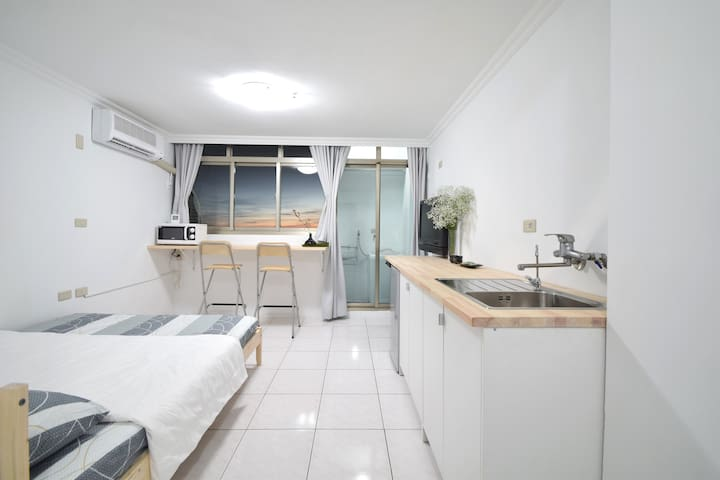 Tainan city center(Ensuite apartment) 台南市中心(獨立套房) - West Central District - Byt