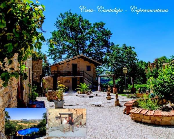 """Casa-Cantalupo-Haus """"Casa-Lungo""""2 P - Cupramontana - Дом"""