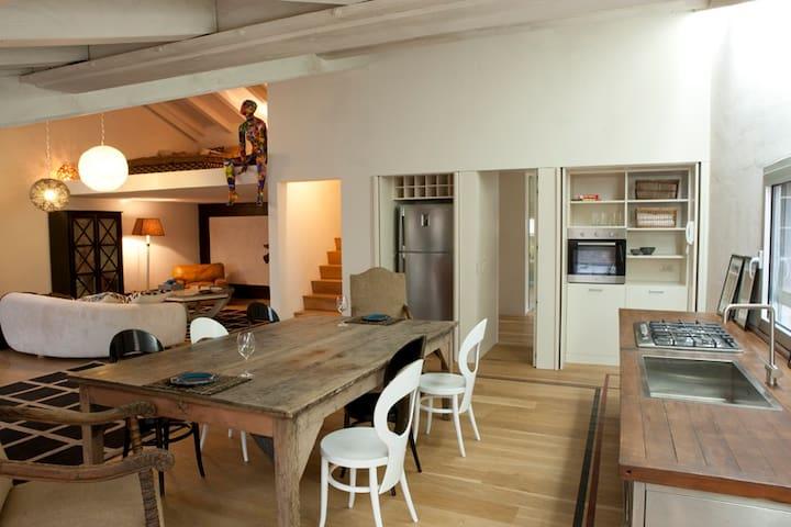 Luxurious Loft with Terrace - Mantova - Hus