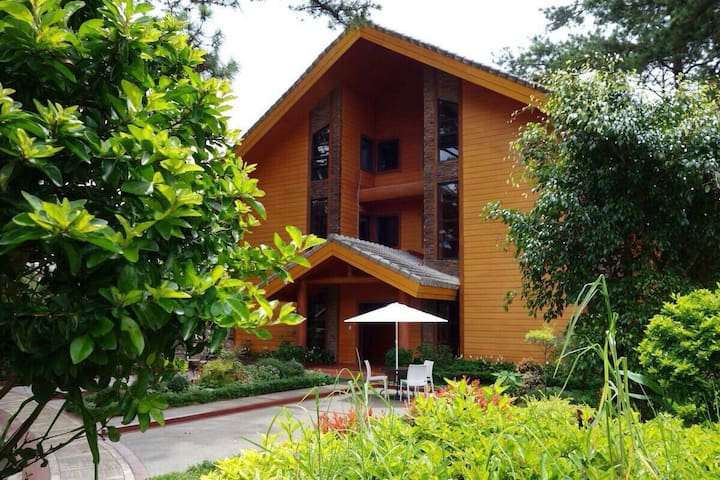 Unit A3, forest cabin, camp johnhay - 바기오