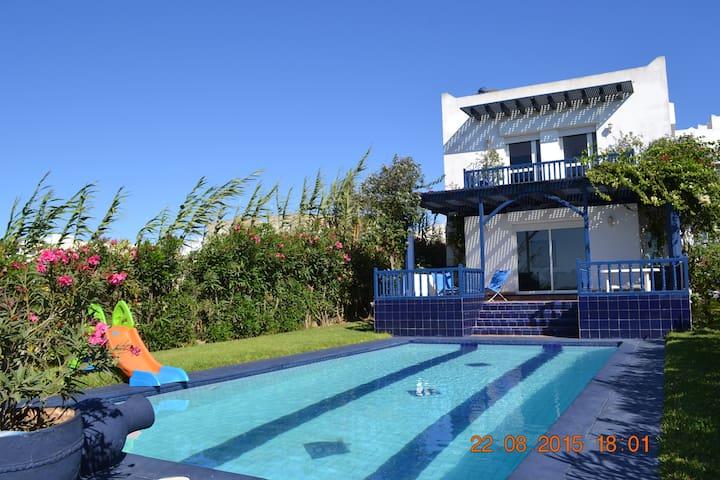 villa en bord de mer/by sea shore - Oualidia - Haus