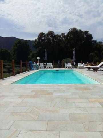 Beau studio proche mer et montagne - Calcatoggio