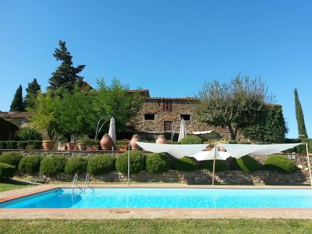 Diana Home - 4 people+1 child - Greve in Chianti - Apartamento