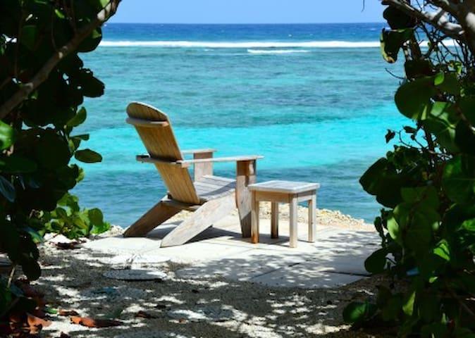 Luxurious 4 bedroom oceanfront/pool/tennis - Bodden Town - Leilighet