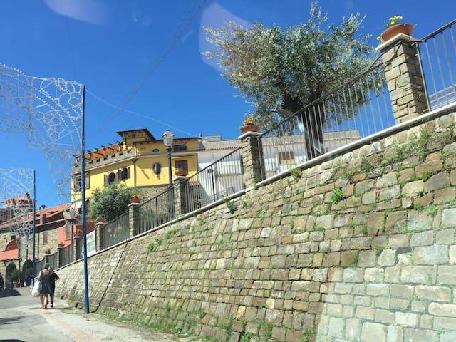 Cilento's view from Hills - Perito