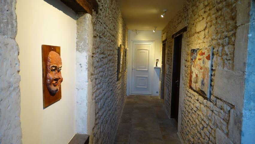 Chambre Baldaquin - La Mothe-Saint-Héray - Hus