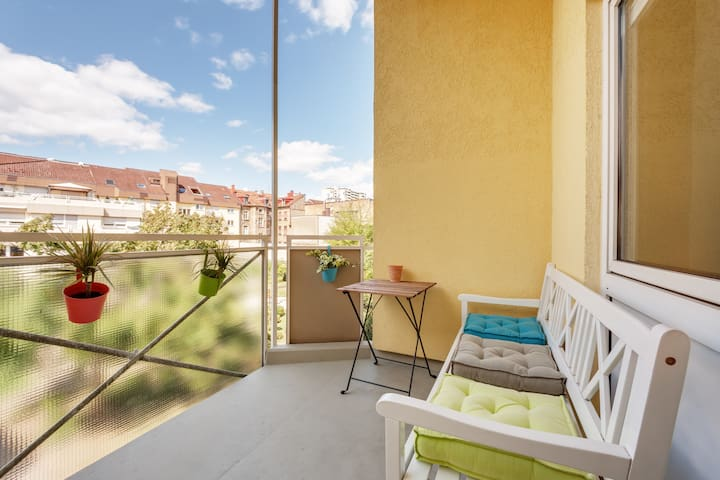 Comfortable Apartment - City Center - Garage4Car - Karlsruhe - Appartement