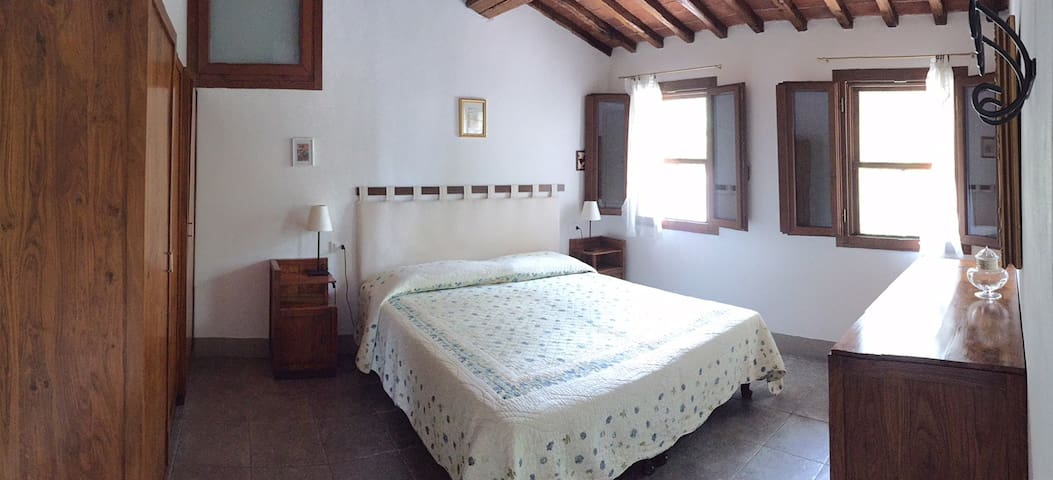 La Loggia, stone cottage for 2, with pool - Cavriglia - Maison