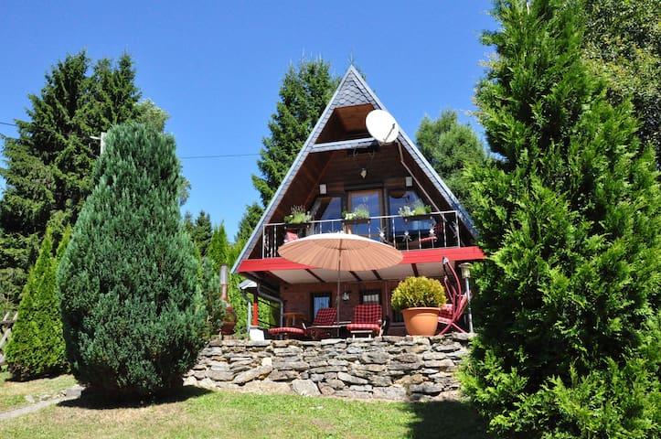 Finnhütte im Thüringer Wald/ Suhl - Suhl - Bungalow