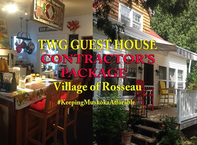 CONTRACTOR'S PACKAGE WITH MEALS - Rosseau - Bed & Breakfast