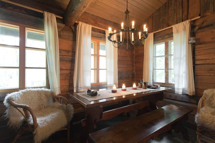 A cosy log cabin with a sauna - 萬塔(Vantaa) - 小木屋