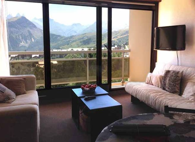 Appartement skis aux pieds, vue! - Fontcouverte-la-Toussuire - Leilighet