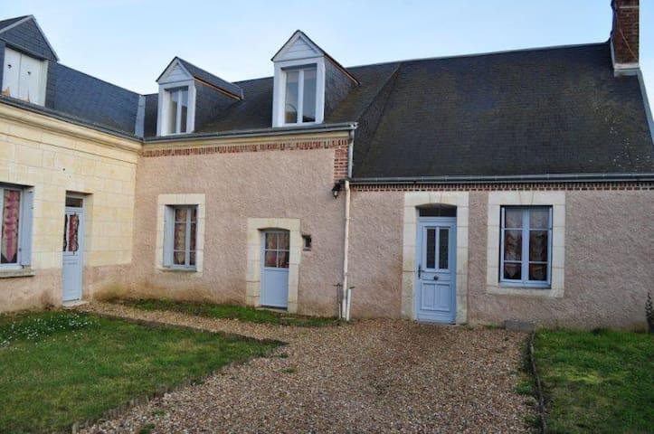 Bedroom between Loir and Braye area - Bonneveau