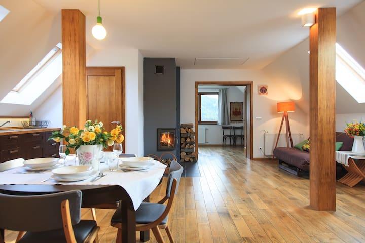 Apartament KURNIK- Beskid Wyspowy - Stróza k Myslenic - Appartement
