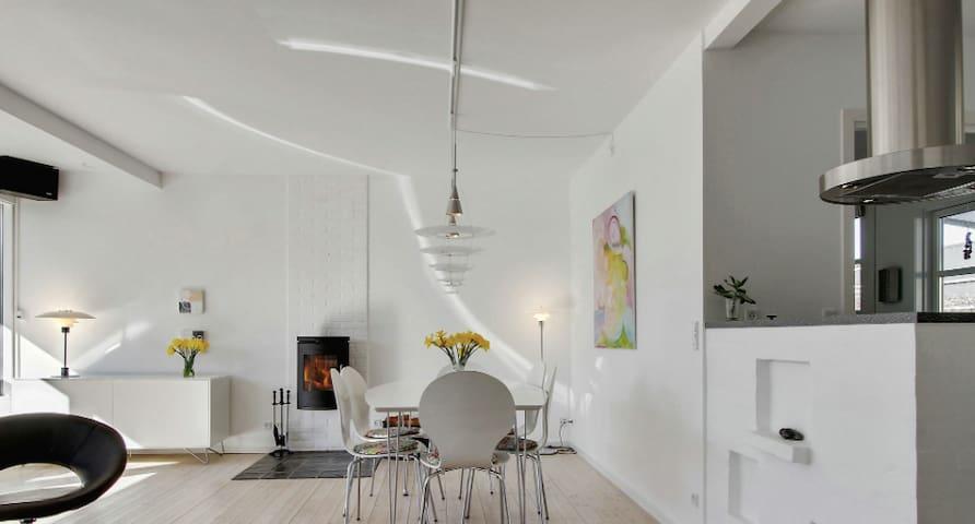 Wonderful family holiday 200 m2 - Hornbæk - House
