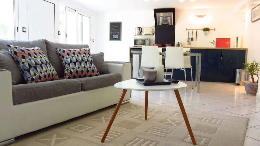 Cosy flat, CDG airport, parc expos - Villepinte - アパート