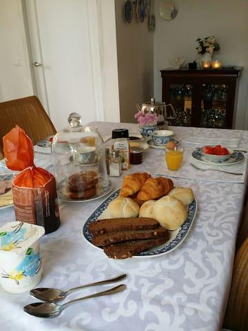 Chambre d'hôtes en Zélande campagne - Nisse - Oda + Kahvaltı