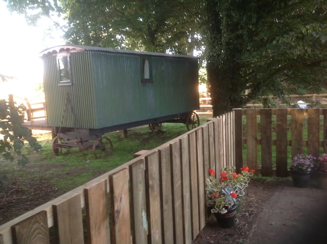 Unique and cosy Shepherd hut - Chipping Warden
