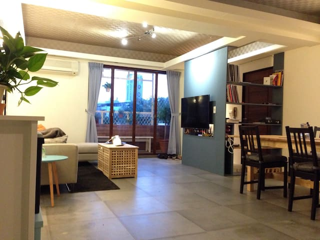 Next to MRT, Cozy and Bright Apartment - 臺北市 - Daire