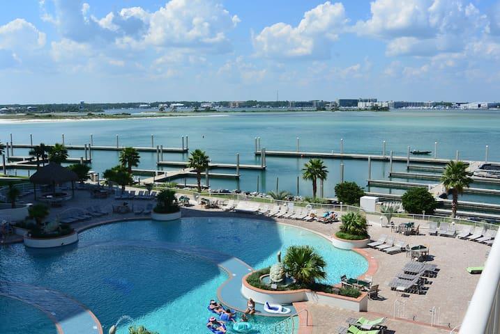 Water, Water, Everywhere! - Orange Beach - Apto. en complejo residencial